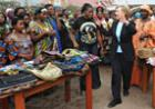 Clinton in Congo (AP)