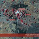 Satellite Imagery shows Lost Boys' Clinic and Orphanage Touched by Violence in D