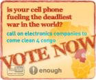 Vote now for the Conflict Minerals You Tube Contest