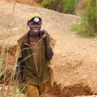 Miner in the DRC