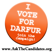 Ask the Candidates About Darfur