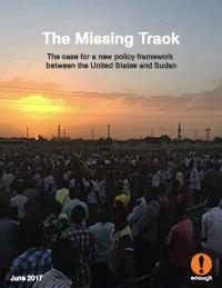 The Missing Track: The case for a new policy framework between the United States and Sudan