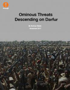 Ominous Threats Descending On Darfur