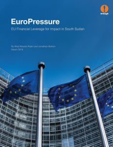 EuroPressure: EU Financial Leverage for Impact in South Sudan