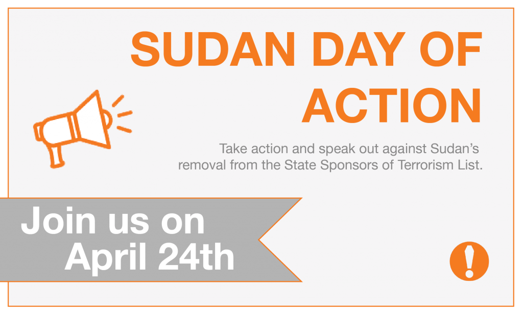 Sudan Day of Action Campaign