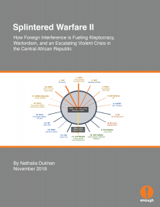 Splintered Warfare II: How Foreign Interference is Fueling Kleptocracy, Warlordism, and an Escalating Violent Crisis in the Central African Republic