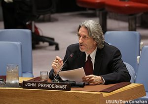 In Historic UN Security Council Session, John Prendergast  Briefs Members on Need to Act Against Corruption-Fueled Violence