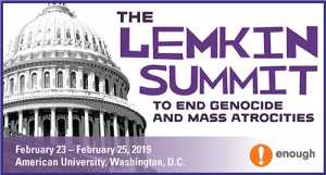 Lemkin Summit to End Genocide and Mass Atrocities 2019