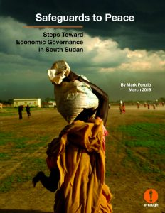 New Report: Safeguards to Peace in South Sudan